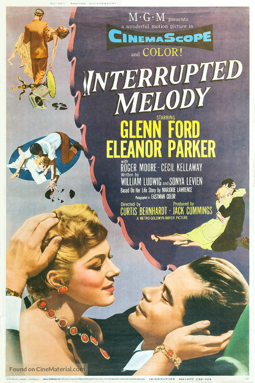 Interrupted Melody - Movie Poster