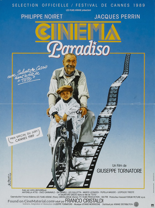 Nuovo cinema Paradiso - French Movie Poster