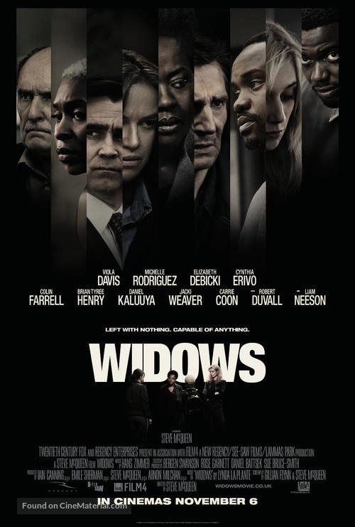 Widows - British Movie Poster
