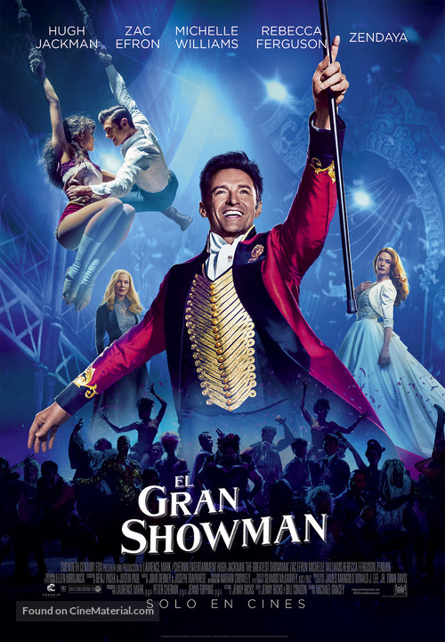 The Greatest Showman - Spanish Movie Poster