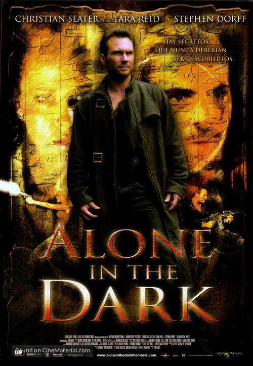 Alone in the Dark - Spanish Movie Poster