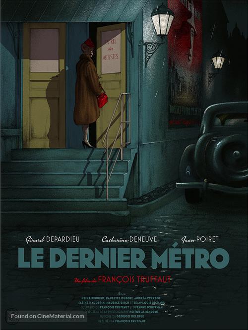 Le dernier métro - Belgian Re-release poster