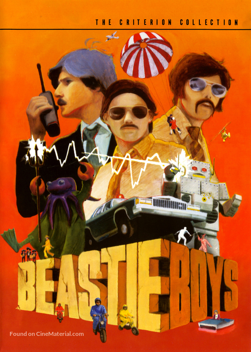 Beastie Boys: Video Anthology - DVD movie cover