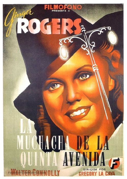 5th Ave Girl - Spanish Movie Poster