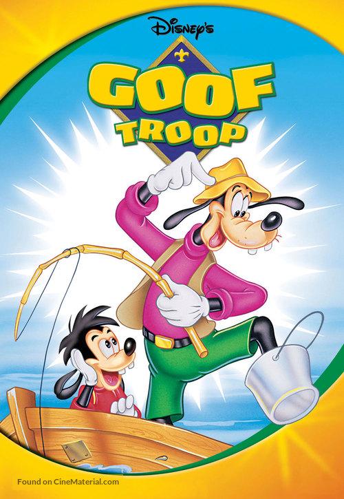 """""""Goof Troop"""" - DVD movie cover"""