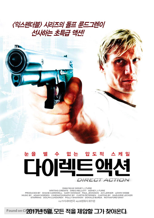 Direct Action - South Korean Movie Poster