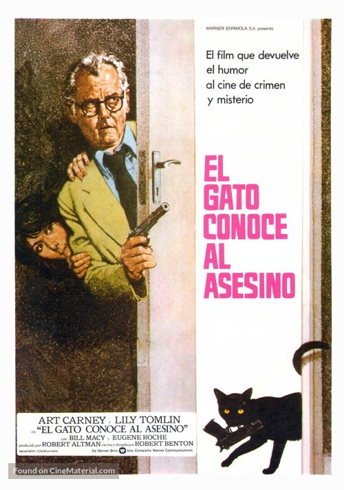 The Late Show - Spanish Movie Poster