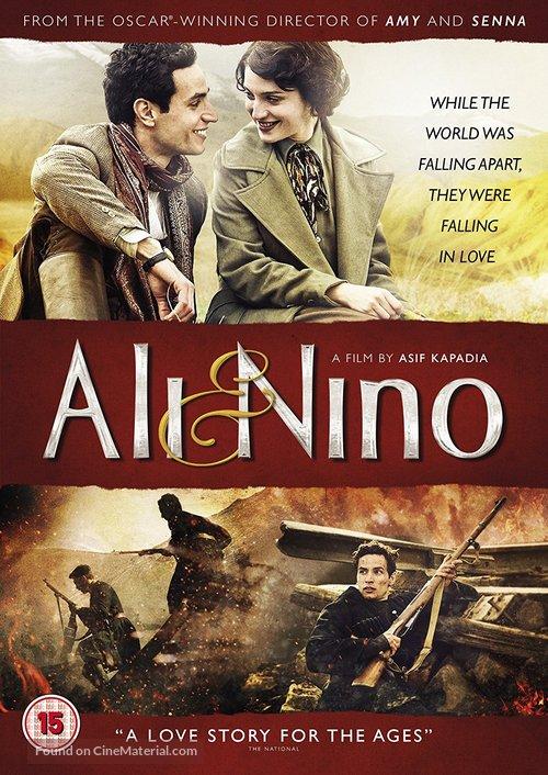 Ali and Nino - British DVD movie cover