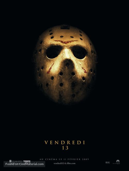 Friday the 13th - French Movie Poster