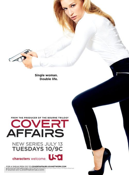 """""""Covert Affairs"""" - Movie Poster"""