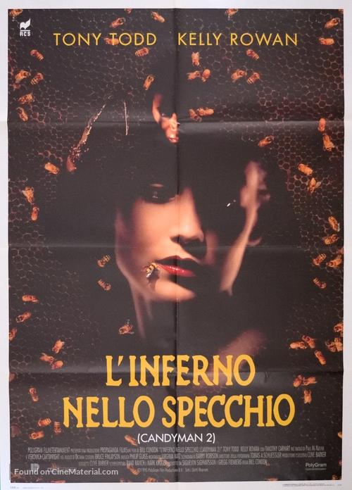 Candyman: Farewell to the Flesh - Italian Movie Poster