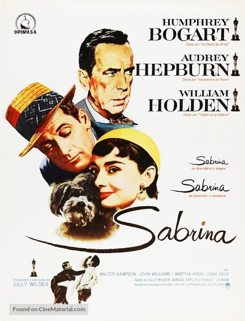 Sabrina - Spanish Movie Poster