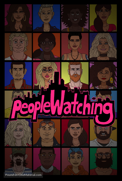 """""""People Watching"""" - Canadian Movie Poster"""