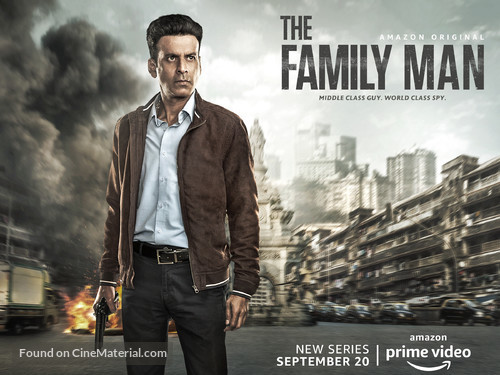 The Family Man (2020) S01 Multi [Hindi – Tamil – Telugu] AMZN WEB-DL x264 AAC ESUB