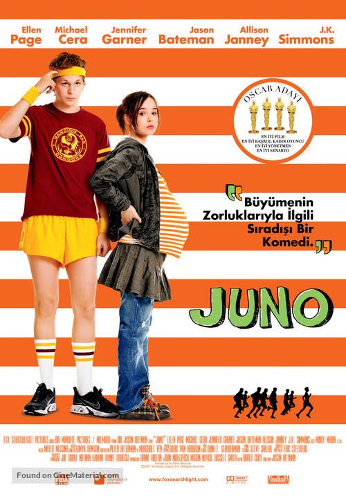 Juno - Turkish Movie Poster