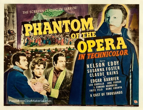 Phantom of the Opera - Movie Poster