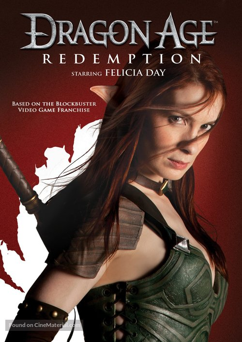 """Dragon Age: Redemption"" - DVD movie cover"