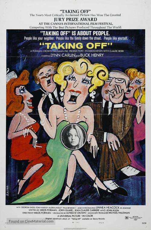 Taking Off - British Movie Poster
