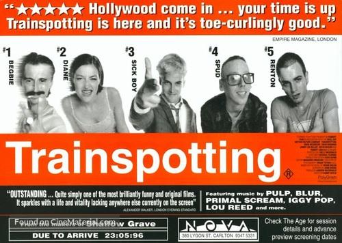 Trainspotting - British Movie Poster