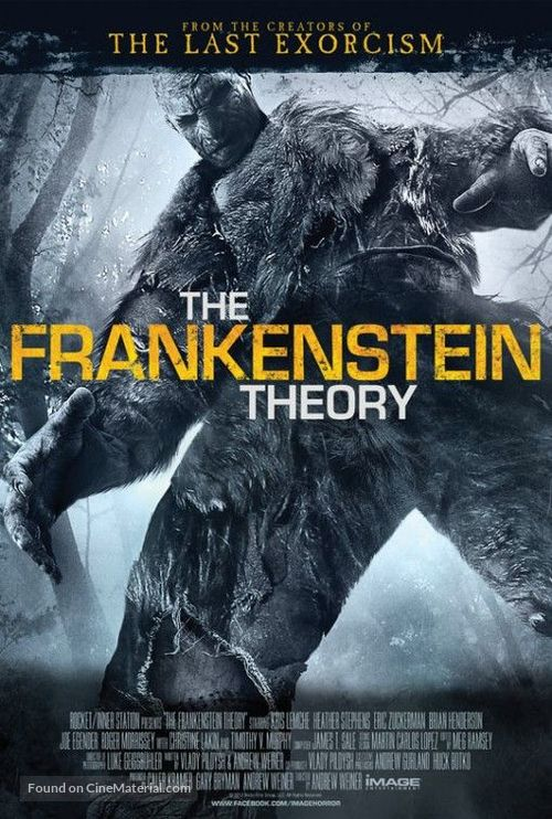The Frankenstein Theory - Movie Poster