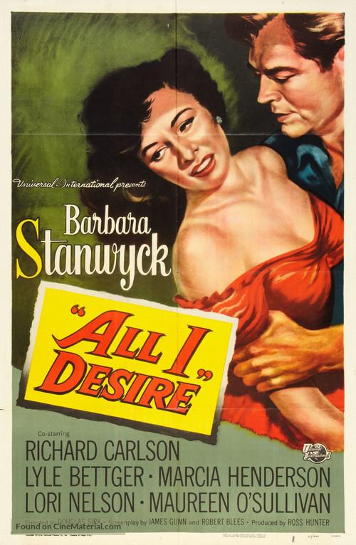 All I Desire - Movie Poster
