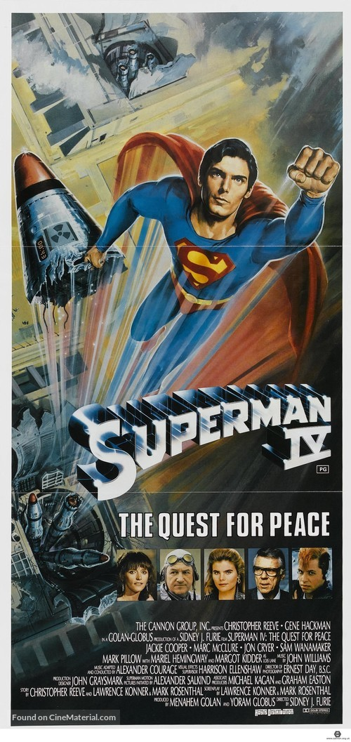 Superman IV: The Quest for Peace - Australian Movie Poster