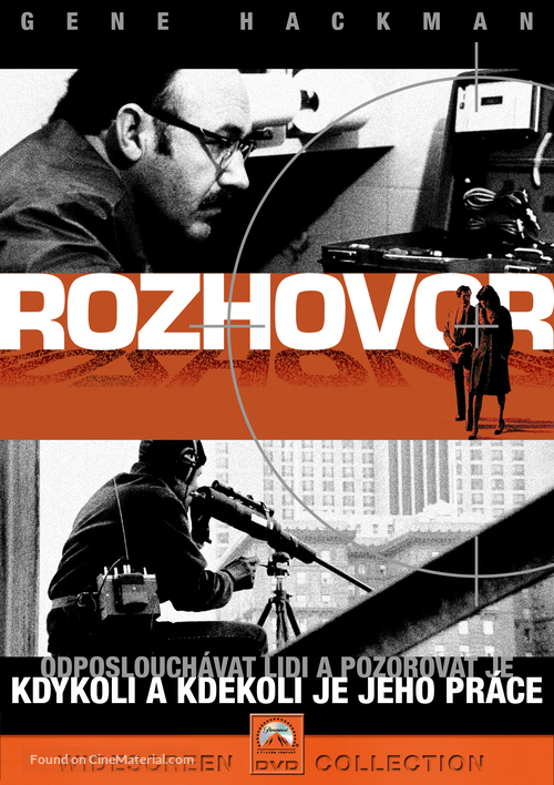The Conversation - Czech Movie Cover