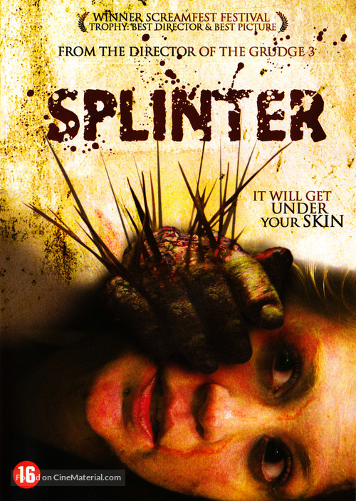 Splinter Belgian movie cover