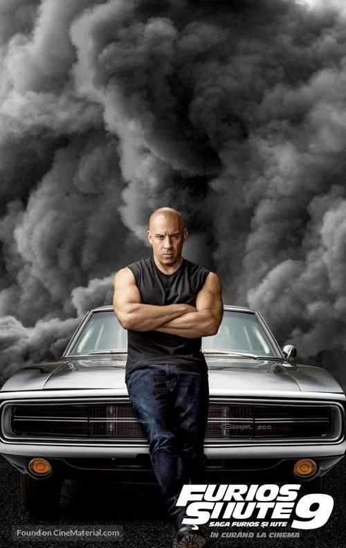 F9 - Romanian Movie Poster