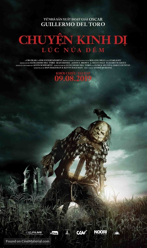 Scary Stories to Tell in the Dark - Vietnamese Movie Poster