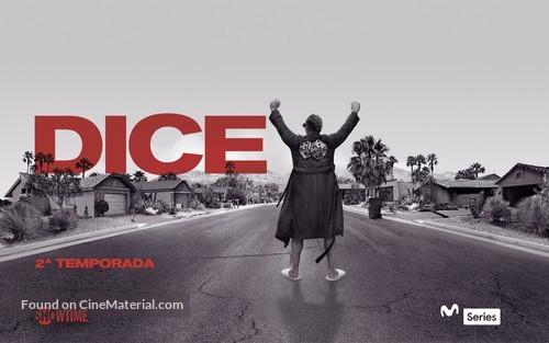"""""""Dice"""" - Spanish Movie Poster"""