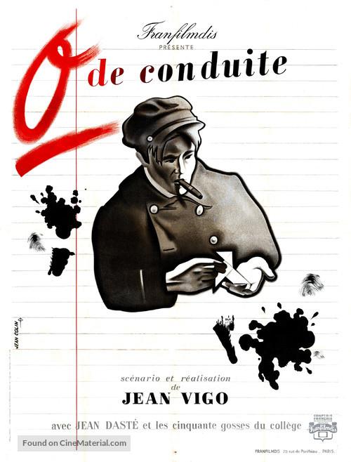 Zéro de conduite: Jeunes diables au collège - French Movie Poster