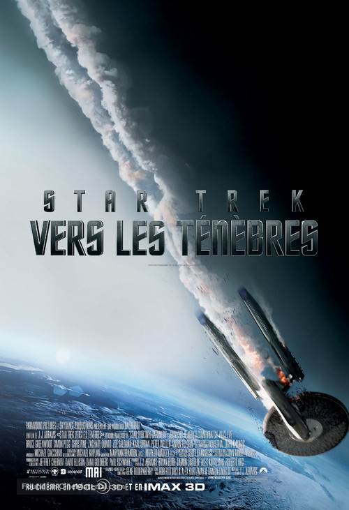 Star Trek Into Darkness - Canadian Movie Poster