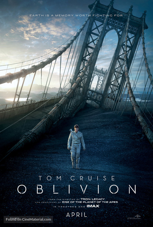 Oblivion - Movie Poster