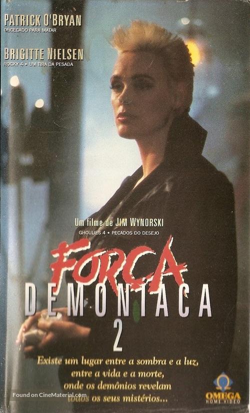 976-Evil II - Brazilian VHS movie cover