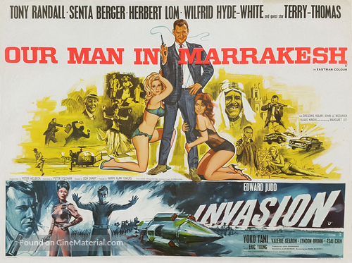 Our Man in Marrakesh - British Combo movie poster
