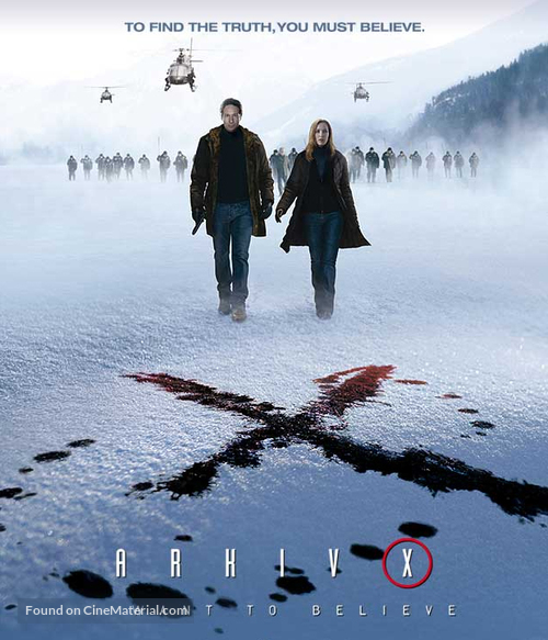 The X Files: I Want to Believe - Swedish Movie Poster
