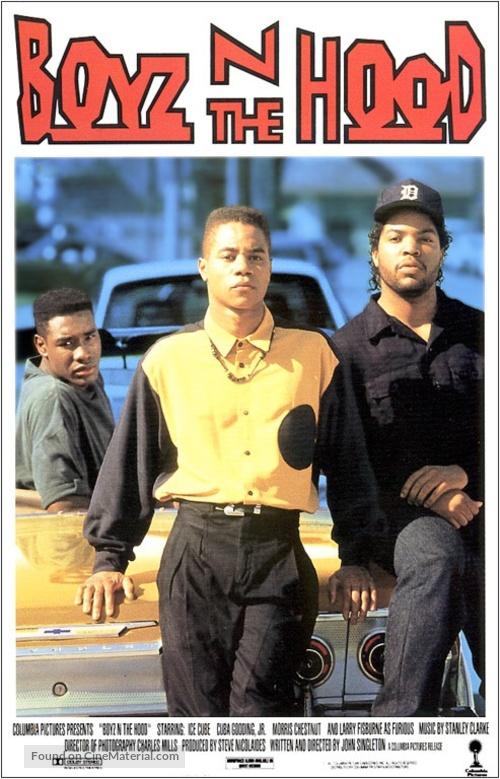 Boyz N The Hood - VHS movie cover