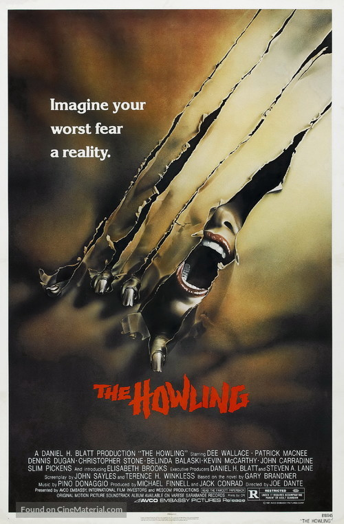 The Howling - Movie Poster