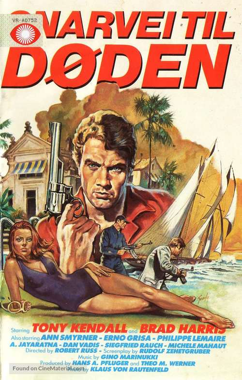 Kommissar X - In den Klauen des goldenen Drachen - Norwegian Movie Poster