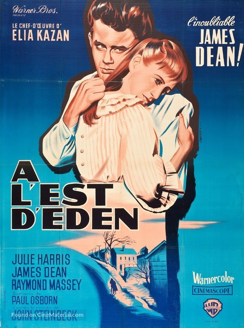 East of Eden - French Movie Poster