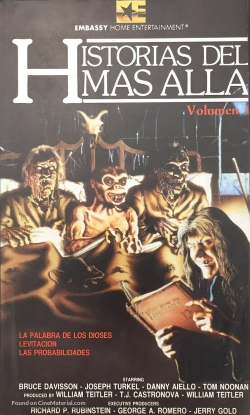 """Tales from the Darkside"" - Spanish VHS movie cover"