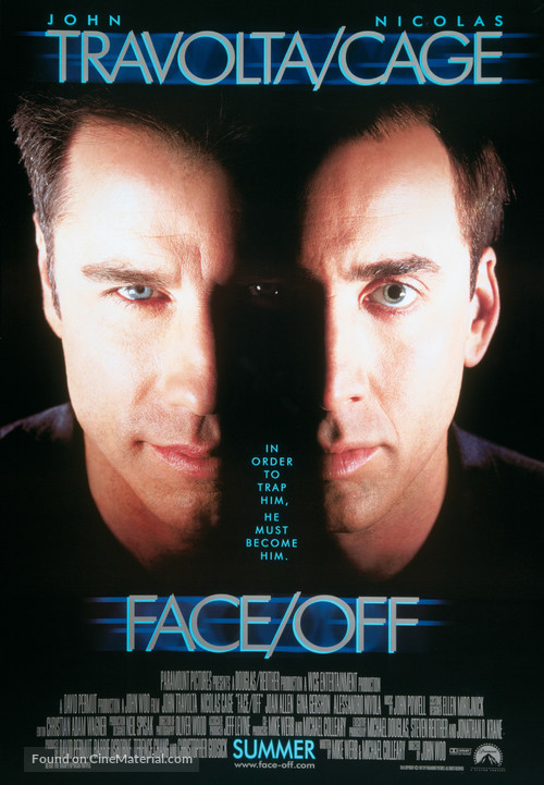 Face/Off - Movie Poster