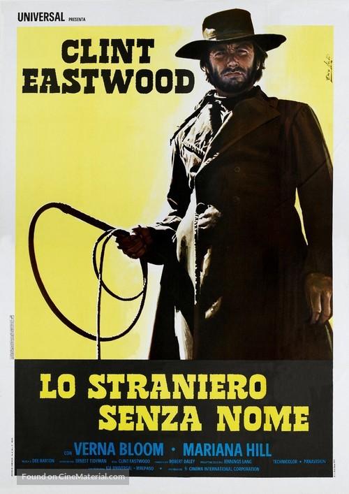 High Plains Drifter - Italian Movie Poster