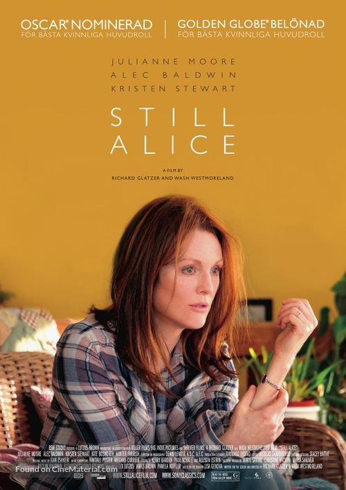 Still Alice - Swedish Movie Poster