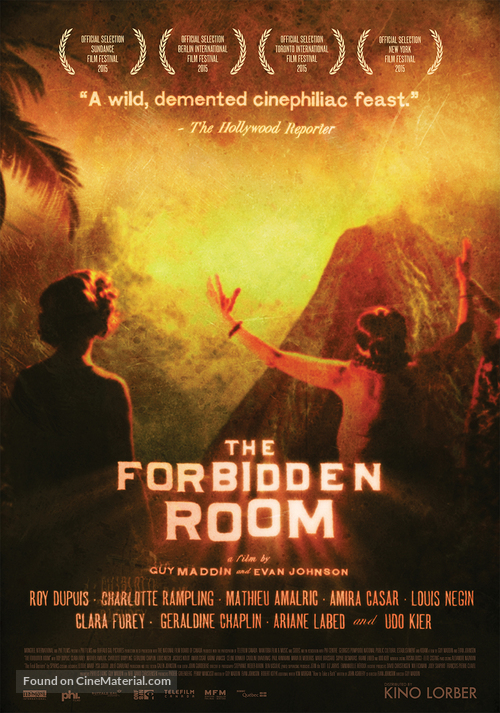 The Forbidden Room - Movie Poster