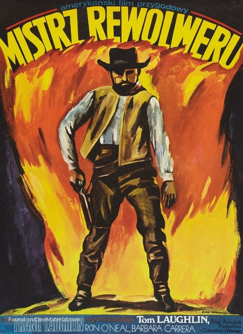 The Master Gunfighter - Polish Movie Poster