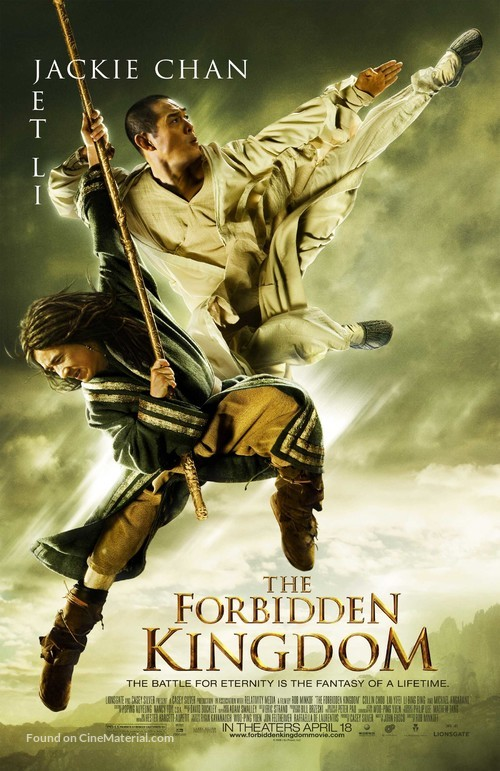 The Forbidden Kingdom - Movie Poster