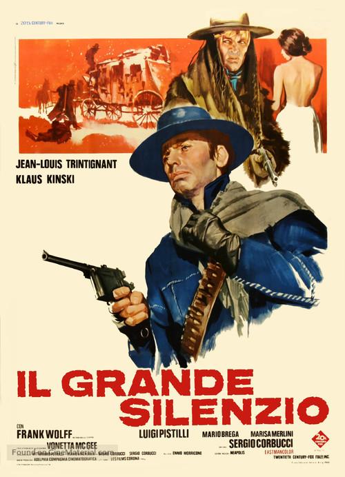 Il grande silenzio - Italian Movie Poster