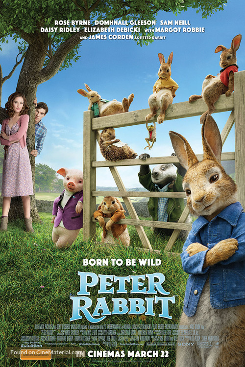 Summer Reading Club - Movie Night - Peter Rabbit @ Cranbrook Public Library